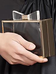 L.WEST® Women's Women's Bowknot Transparent Party/Evening Bags