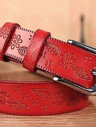 Feminino Cinto para a Cintura Vintage / Casual Liga Couro Animal Feminino