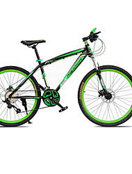 "ciclismo 21 velocidades duplo disco de freio da bicicleta 26 ""montanha 6 raios da roda"