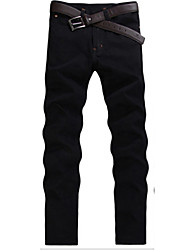 Men's Pure Long Sleeve Pant , Cotton Casual