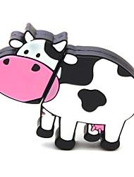 zpk40 unidade de memória leite 64gb vaca dos desenhos animados USB 2.0 Flash u vara