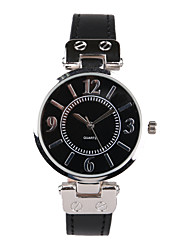 Женские Модные часы Кварцевый Защита от влаги PU Группа Черный / Синий бренд-