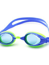 óculos de natação pc anti-fog do miúdo