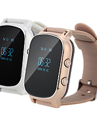 GPS-Tracker Smartwatch Telefonanruf sos Wrist gsm wifi + lbs Armbanduhr intelligente Monitor Alarm für ältere Kind
