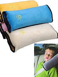 ZIQIAO Baby Car Safety Belt Protect Shoulder Pad adjust Vehicle Seat Belt Cushion for Kids Children (Random colors)