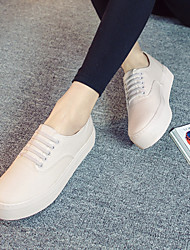 Women's Shoes Fabric Platform Creepers Comfort Closed Toe Fashion Sneakers Athletic Shoes Slip-onOutdoor