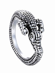 Europe And The United States Exaggerated Opening Ring Animal Crocodile Ring