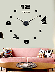 High Quality 3D DIY Wall Clock Silent New Modern Design 12S006
