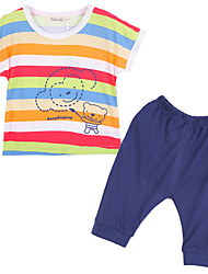 Boy Cotton Clothing Set,Summer Short Sleeve