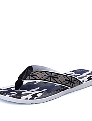 Men's Shoes Outdoor / Casual / Athletic Rubber Slip-on / Flip-Flops Blue / Green