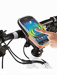 ROSWHEEL® Bolsa de Bicicleta 0.5LBolsa para Guidão de BicicletaÁ Prova-de-Água / Zíper á Prova-de-Água / Á Prova de Humidade / Camurça de