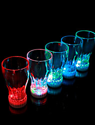 Colorful LED Flash Coke Glass (2 PCS / 360ml)