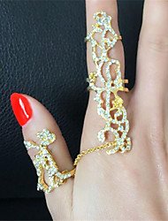 Vintage / Casual Alloy / Cubic Zirconia Statement Ring