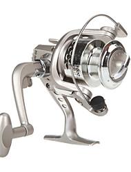 6 Ball Bearings Spinning Reels Gear Ratio 5.1:1 Exchangable hand Spinning Fishing Reel -SG3000 Random Colors