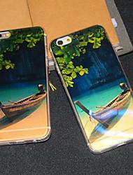 Pour Coque iPhone 6 / Coques iPhone 6 Plus Motif Coque Coque Arrière Coque Paysage Flexible TPU iPhone 6s Plus/6 Plus / iPhone 6s/6