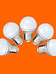 5 pcs fsl® e26 / e27 3 w 9 cms 2835 220 lm chaud ampoules / blanc froid globe g45 ac 220-240 v