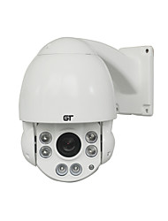 GT 1080P HD Outdoor With 4.5 Inch 10x Optical Zoom Middle Speed Dome IP PTZ Camera