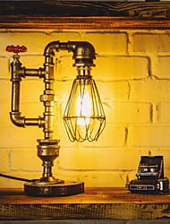 E27 Vintage Edsion Bulb Table Lamp Light  Water Pipe Desk Lamp Indoor Lighting  110-220V Bulb-FJ-DT2S-038A0