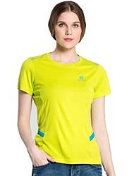 Femme Tee-shirt / Hauts/TopsCamping / Randonnée / Pêche / Sport de détente / Cyclisme/Vélo / Hors piste / Moto / Course/Running / Ski de
