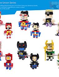 héroe de Star Wars bloques de construcción de figuras de acción juguetes super super hombre Batman Spiderman hulk niños ironman regalos de