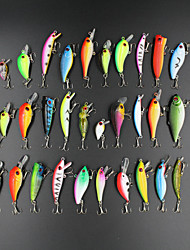 Fishing Lures 30pcs 1.5-9g Minnow Popper Vib Crank