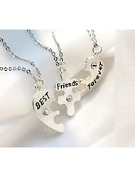 The Best Friend Of The Letters Three Sets Of Fashion Necklace