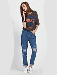 Damen Hose - Übergröße / Leger Baumwolle