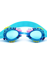 Swimming Goggles Kid's Anti-Fog Silica Gel PC Dark Blue / Red / Pink / Blue Red / Pink / Blue / Dark Blue