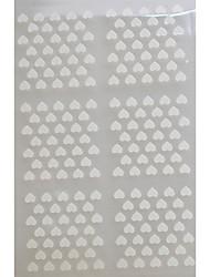 5 sheets - Autocollants 3D pour ongles - Doigt / Orteil - en Abstrait / Adorable - 13*7.5