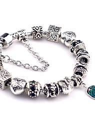 Bracelet Charmes pour Bracelets Bracelets Vintage Alliage Autres Original Mode Soirée Quotidien Décontracté Bijoux Cadeau Argent,1pc