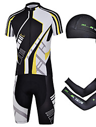 CHEJI Breathable Bike Short Sleeve Suit Pirate Scarf & Sleeves