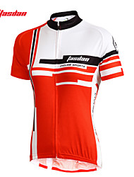 TASDAN® Cycling Jersey Women's Short Sleeve Bike Breathable / Quick Dry / Ultraviolet Resistant / Sweat-wickingJersey / Jersey +