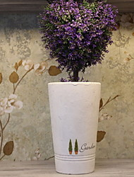 Creative Garden Cement Crafts Home Furnishing Decoration Artificial Flowers Vases/Flowerpot