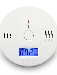 seguridad en el hogar de carbono co detector de alarma de advertencia sensor de gases de humo intoxicación por monóxido