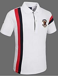Homme Tee-shirt Hauts/TopsCamping / Randonnée Escalade Exercice & Fitness Golf Courses Sport de détente Badminton Basket-ball Base ball