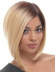 Beautiful Synthetic Blonde Bobo Short   Medium Wigs  Kanekalon African American women Wigs