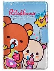 design especial novidade anime pu couro caso folio para ipad mini-4