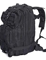 43 L sac à dos Camping & Randonnée Outdoor Multifonctionnel Noir Nylon hs