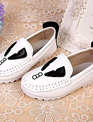 Kids' Shoes Libo 2016 New Style Hot Sale Outdoor/Party/Casual Cartoon Comfort Flats Black/White/Yellow/Pink