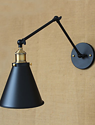 American Country Pastoral Style Minimalist Double Bed Long-Arm Wall Lamp Aisle Channel Warehouse Entrance