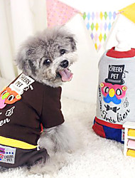 Dog Coat / Clothes/Jumpsuit Gray / Coffee Dog Clothes Winter Fashion