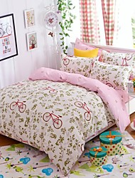 Baolisi AB Edition Printed Version 4 times Pattern For Moringa Series Bedding Four Sets