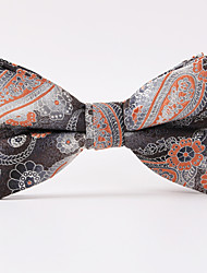 Brown Paisley  A Formal Butterfly Bow Tie