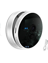 Snov 720P Wifi Night Vision IP Camera Home & Business Cube IP Camera with wireless door sensor, Motion Detection, APP