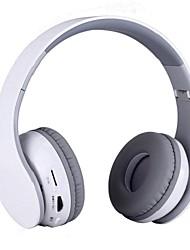 Headset Bluetooth Stereo fone de ouvido e headphones Apoio TF cartão para telefone celular mp3