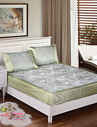 Yuxin®Ice Siya Hemp Mat Bed Enterprises Shall Seats Jacquard Silk Ice Seats in The Summer Air Conditioning  Bedding Set