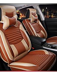 couro assento do banco do carro, assento de couro almofada macia para a maior parte do carro