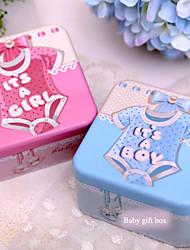 Cajas de Regalos(Rosado / Azul,Metal) -Tema Fantástico-Baby Shower / Cumpleaños