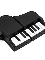 ZPK02 32GB Black Piano USB 2.0 Flash Memory Drive U Stick