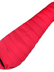 Спальный мешок Кокон Односпальный комплект (Ш 150 x Д 200 см) -12℃ Утиный пух 1500g 220X80 Путешествия Водонепроницаемый / Сохраняет тепло
